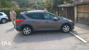 Peugeot 207 SW, 1.6 HDI,panorama, outdoor