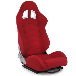 Sportsko sjedalo sic sjedište crveno preklopno