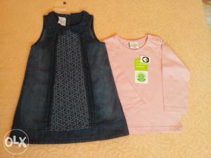 Haljina i majca za djevojcice br. 92