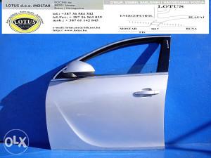 Opel Insignia-prednja lijeva vrata (ostali dijelovi)