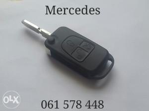 Kljuc Mercedes 3 tipke skakavac oklop kljuca c e s ml