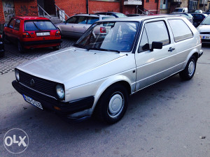 Golf 2 1.6turbo dizel registrovan