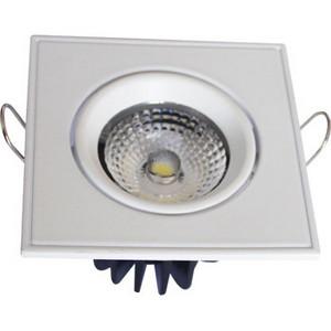LED COB 5W silver 4200K ugradni (kocka)