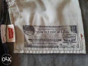 Farmerke Levis 501 original W36 L36
