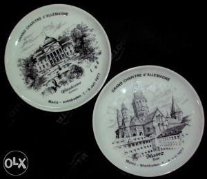 Kaiser podmetači za čaše, antikvarni porculan