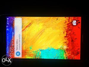 Samsung Galaxy Note 3 SM-N9005 3gb ram,32gb rom