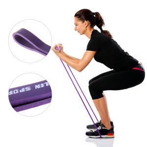 Rastezljive 2,86cm LATEX BAND TRAKA Pilates Yoga
