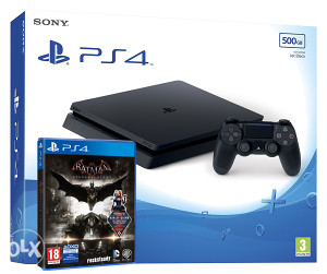 Sony PlayStation 4 500GB 2016A Batman Arkham Knight PS4