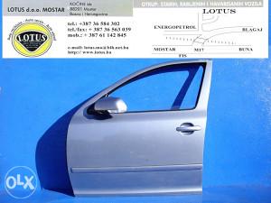 Škoda Octavia 05/09-prednja lijeva vrata (ostali dijelovi)