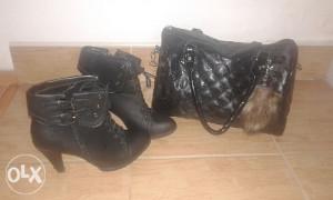 Zenske cizme vel.39 +torba