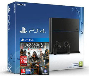 Sony PlayStation 4 500GB 1216A A.C. Syndicate PS4