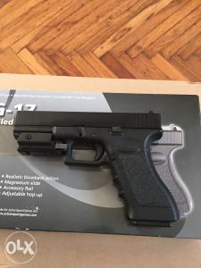 Airsoft Glock 17 sa laserskim nisanom