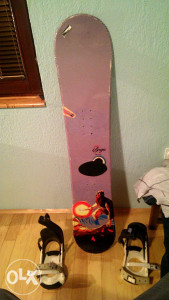 Snowboard 132 cm sa vezovima