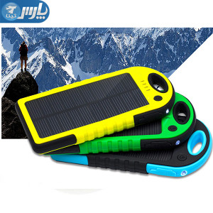 POWER BANK 12000, SOLARNI - VODOTPORAN