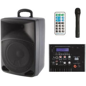 Set,zvučnik,mikrofon,pojač.,daljinski upr,12V/baterija