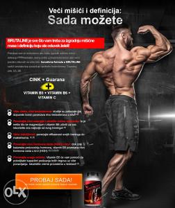 BRUTALINE protein za masu! AKCIJA-DETALJNO!!