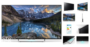 "Sony Android 3D 43W808C 1000Hz 43"" LED TV"