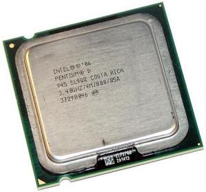 Pentium® D Processor 945 3.40 GHz, Dual core