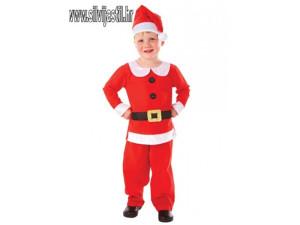 Deda mraz odijelo za dijete 3-5godina Djed mraz