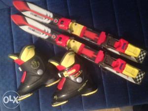 Skije, pancerice i štapovi za djecu