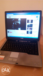 Laptop Toshiba 1.6GHz Uredan Baterija i Wireless OK!!!!