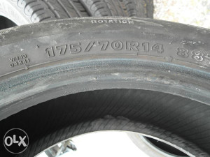 Guma hankok 175/75 R14 ... M S.. jedan komad na stanju