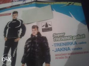 Legea paket trenerka i jakna