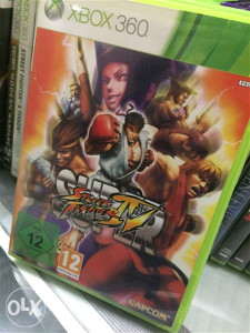 Super streetfighter 4 xbox 360 pal
