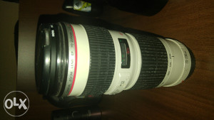 Canon EF 70-200mm f/4L USM + filter