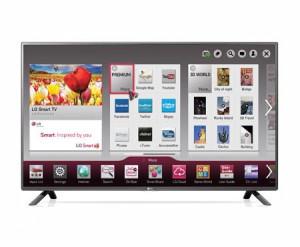 LG 32LF5800 FullHD Smart TV Wi-Fi