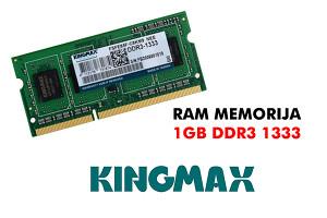 MEMORIJA RAM DDR3 1GB 1333MHz