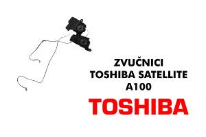Zvucnici Toshiba Satellite A100