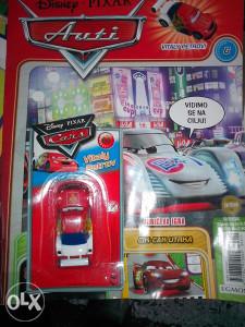 Auti / časopis za dječake sa igračkom