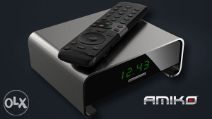 AMIKO A3 - Android DVB-S2 IPTV Box, Full HD