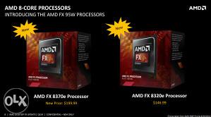 AMD FX-8320/E, 4.4ghz 1.35V