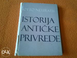 Otto Neurath - Istorija antičke privrede