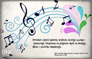 Casovi klavira,teorije muzike, sofledja i harmonije