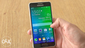 Samsung Galaxy Alpha Demo Unit