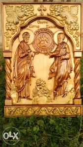Duborez ikona Sv. Petar i Sv. Pavle