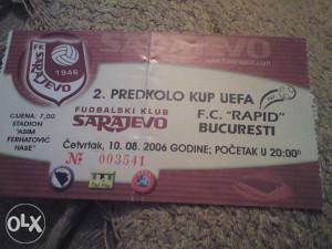 sarajevo-rapid.bukurest 10.8.2006