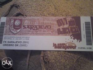 SARAJEVO-OREBRO 21.7.2011