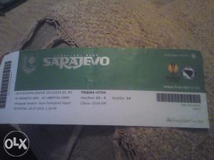 SARAJEVO-LIBERTAS 4.7.2013