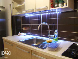 LED traka 5m sa napajanjem za Kuhinje Vodoodporna.