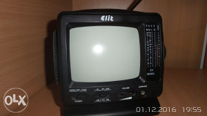 mali mIni tv + radio elit portabl tv 12v CB