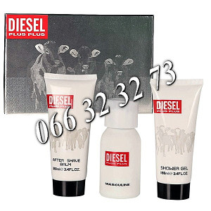 Diesel Plus Plus 75ml + 100ml ASB + 100ml SG... M 50 ml