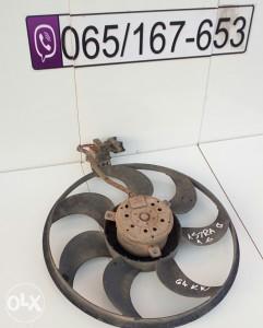 ventilator hladnjaka opel astra g/zafira a 1.4/1.6/1.8
