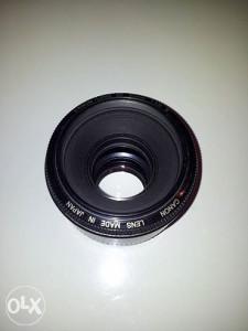 objektiv canon 50mm 1.8 II