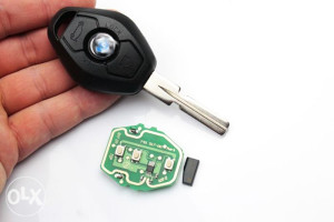 Zamjena baterije u kljucu BMW E46 E60