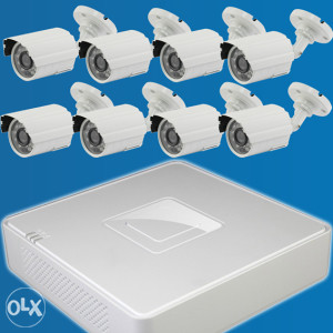 Set za video nadzor, 8 kamera   8-kanalni DVR