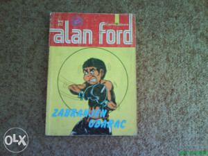 SSB Alan Ford 313 - Zabranjeni udarac